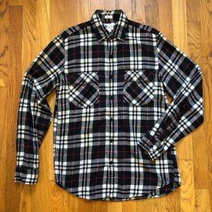 J. Crew Men's Vintage Flannel Button Down Shirt